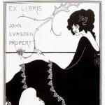 Ex Libris by Aubrey Beardsley