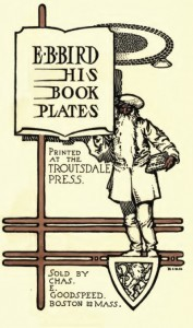 E. B. Bird and his Bookplates