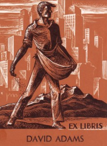 Lynd Ward bookplate