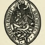 Ex Libris of Samuel Knight, Esq., Architect.