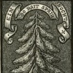 Emblematic Ex Libris of the Rev. John Houghton Steele.